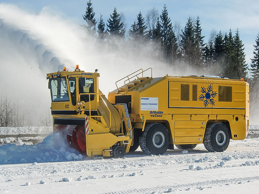 Blower Snow Removal Equipment : Tv