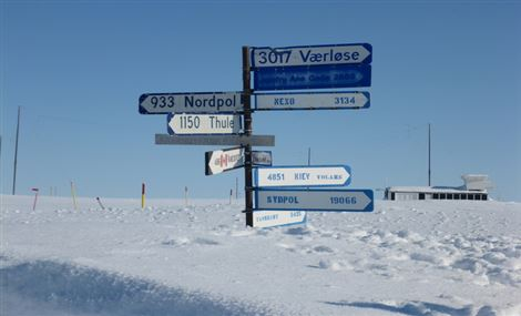 Delivery TV 1000 Station Nord Greenland